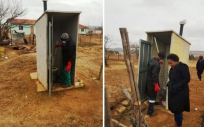 Pit Toilet solution Sakhisizwe Local Municipality