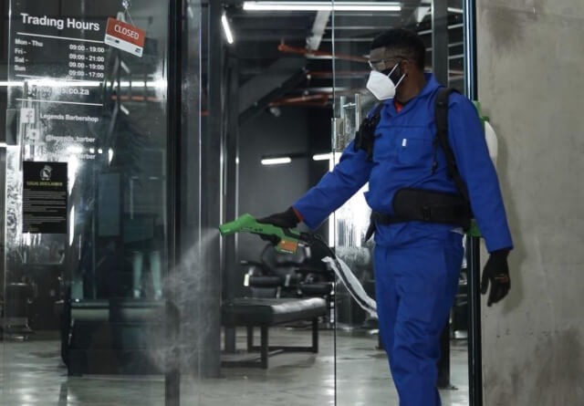 Largest sanitizing and fogging company in South Africa