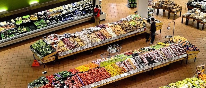 Electrostatic disinfection can be used anywhere including grocery stores